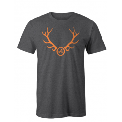 Athlon Antlers T-Shirt GREY