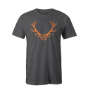 Athlon Antlers T-Shirt GREY
