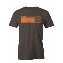 Athlon Flag T-Shirt BROWN