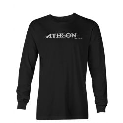 Athlon Logo Long Sleeve T-Shirt BLACK